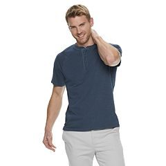 36ca16c504 Men's SONOMA Goods for Life™ Supersoft Slubbed Washed Henley
