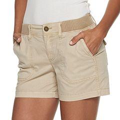 673ea8ec2d Women's SONOMA Goods for Life™ Twill Shorts
