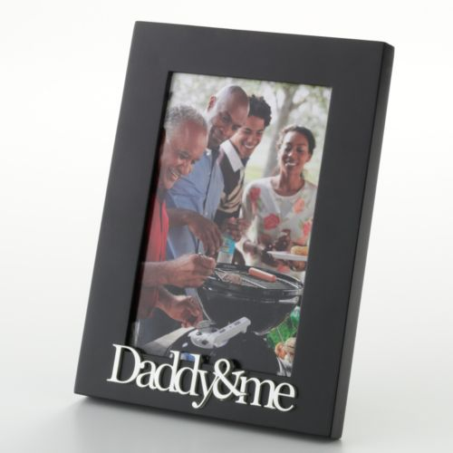 Malden Daddy and Me 4'' x 6'' Frame