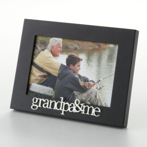 Malden Grandpa and Me 4'' x 6'' Frame