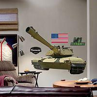 Fathead M1 Abrams Tank Wall Decal