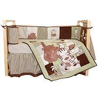 Tadpoles4-pc. Jungle Spa Crib Set
