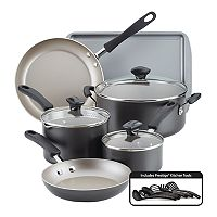 Farberware Cookstart 15-pc. DiamondMax Nonstick Cookware Set Deals