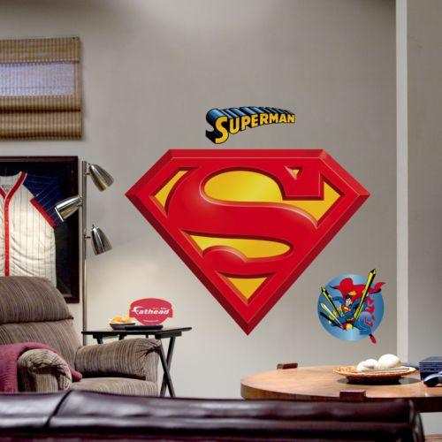 DC Comics Superman Logo Wall Decal by Fathead