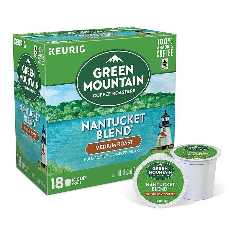 Keurig® K-Cup® Pod Green Mountain Coffee Nantucket Blend Medium Roast Coffee - 18-pk.