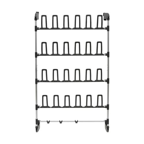 Neu Home Over-the-Door 24-Prong Shoe Rack