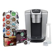 Keurig K-Elite Single Serve K-Cup Pod Coffee Maker w/36-Ct Pod Carousel Deals