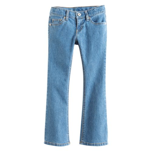 Girls 4-7 SONOMA life + style® Glitter Bootcut Jeans
