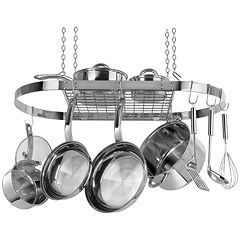 Range Kleen Stainless Steel Oval Pot Rack by