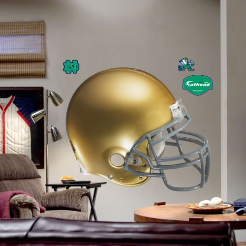 Fathead University of Notre Dame Fighting Irish Helmet Wall Decal