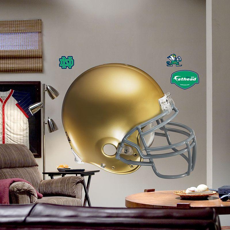 Fathead University of Notre Dame Fighting Irish Helmet Wall Decal