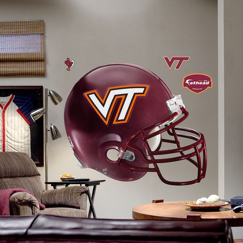 Fathead Virginia Tech Hokies Helmet Wall Decal