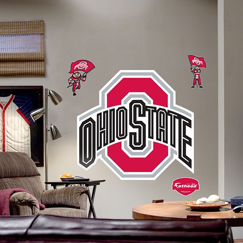 Fathead® Ohio State University Buckeyes Logo Wall Decal