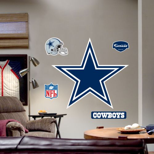 Fathead Dallas Cowboys Logo Wall Decal