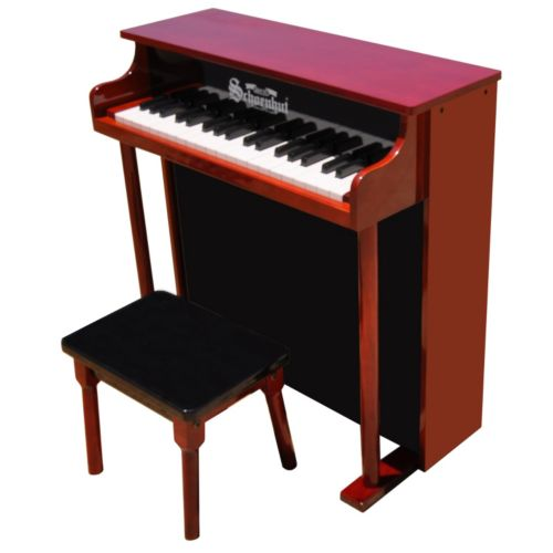 Schoenhut Wood 37-Key Traditional Deluxe Spinet Toy Piano