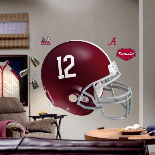 Fathead University of Alabama Crimson Tide Helmet Wall Decal