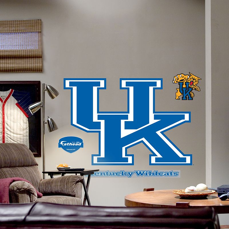Fathead University of Kentucky Wildcats Logo Wall Decal
