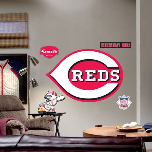 Fathead Cincinnati Reds Logo Wall Decal