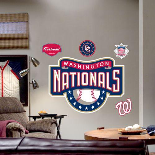 Fathead Washington Nationals Logo Wall Decal