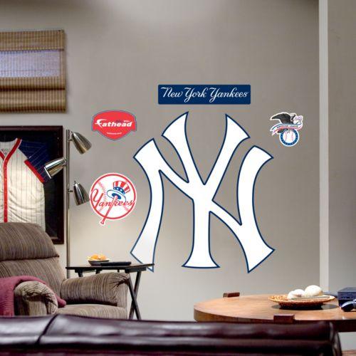 Fathead New York Yankees Logo Wall Decal