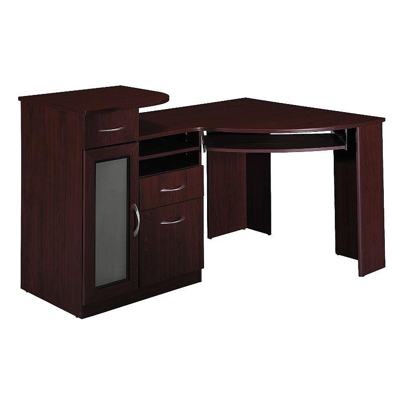 Bush Furniture Vantage Espresso Corner Desk
