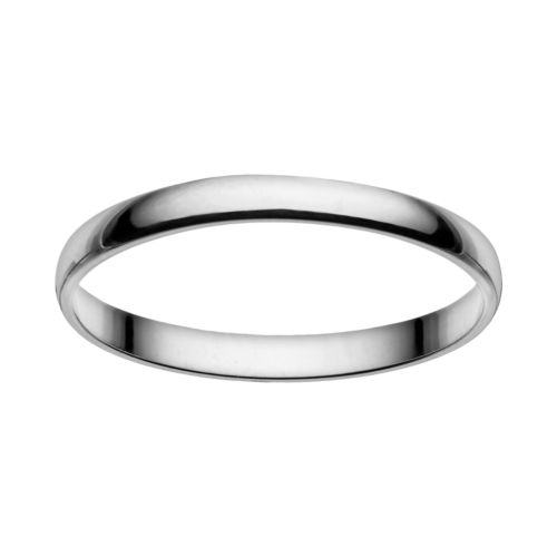 Cherish Always 10k White Gold Wedding Band