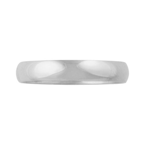 Cherish Always 10k White Gold Wedding Band - Men