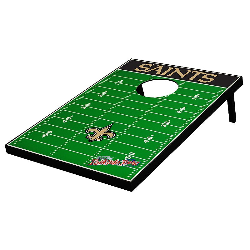New Orleans Saints Tailgate Toss Beanbag Game