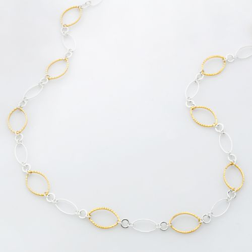 Croft & Barrow® Two Tone Chain Necklace