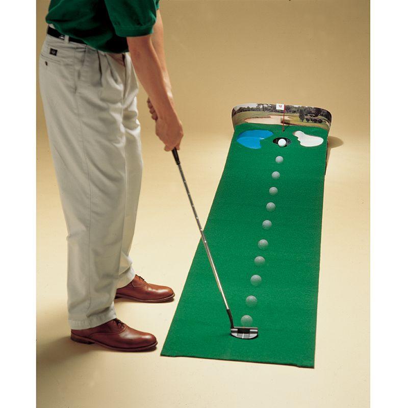 Club Champ Golfer's Putt 'n' Hazard Putting Green, Multi/None
