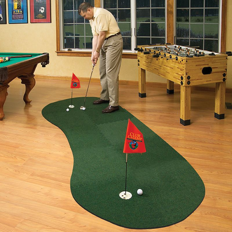 Club Champ Expand-a-Green Golfer's Modular Putting System, Green