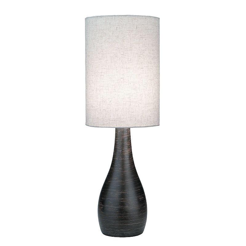 Quatro Brushed Mini Table Lamp