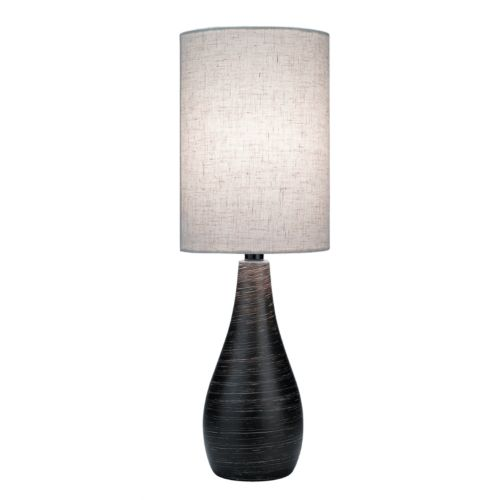 Quatro Brushed Table Lamp