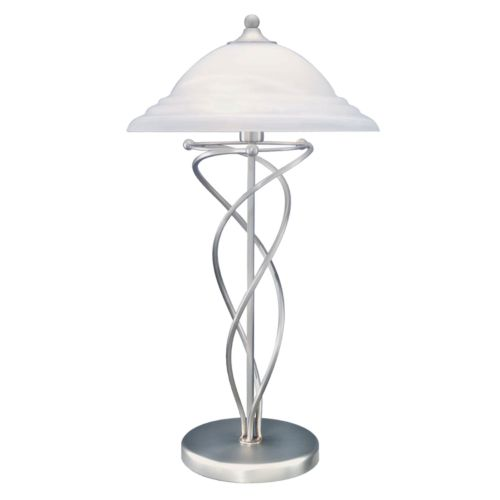 Majesty Silver Table Lamp