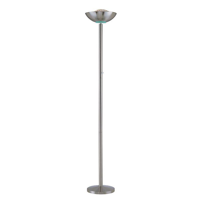 Basic Halogen Torchiere Floor Lamp