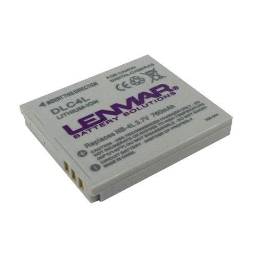 Lenmar Canon Digital Camera DLC4L Lithium-Ion Replacement Battery
