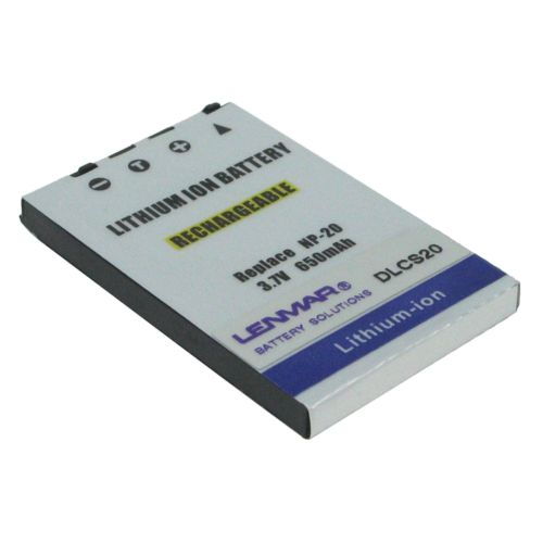Lenmar Casio Digital Camera DLCS20 Lithium-Ion Replacement Battery