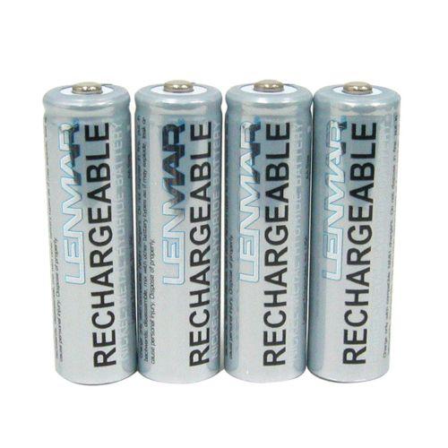 Lenmar 4-pk. PRO427 Nickel-Metal Hydride AA Rechargeable Batteries