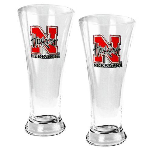 Nebraska Cornhuskers 2-pc. Pilsner Glass Set