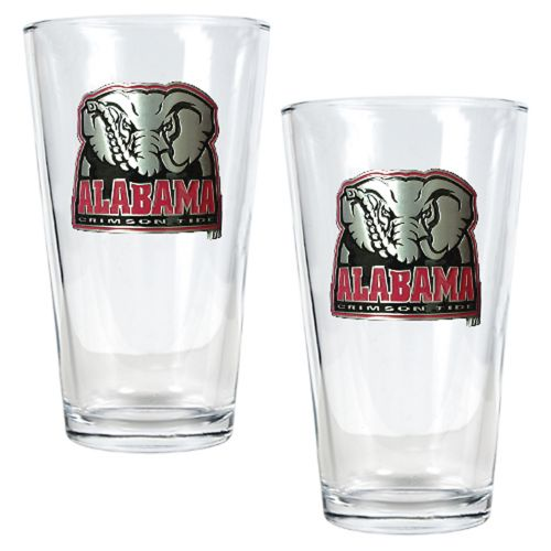 University of Alabama Crimson Tide 2-pc. Pint Ale Glass Set