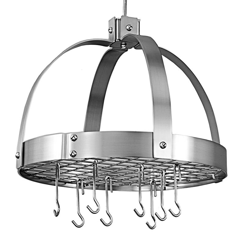 Old Dutch Nickel Hanging Dome Pot Rack