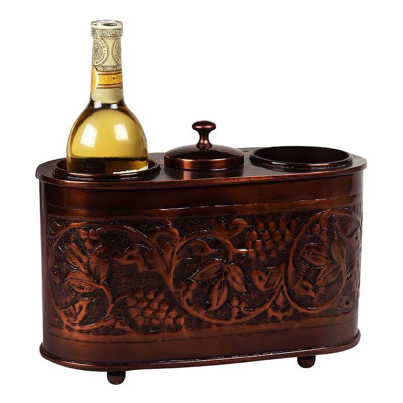 Old Dutch Antiqued Copper 2-Bottle Wine Chiller