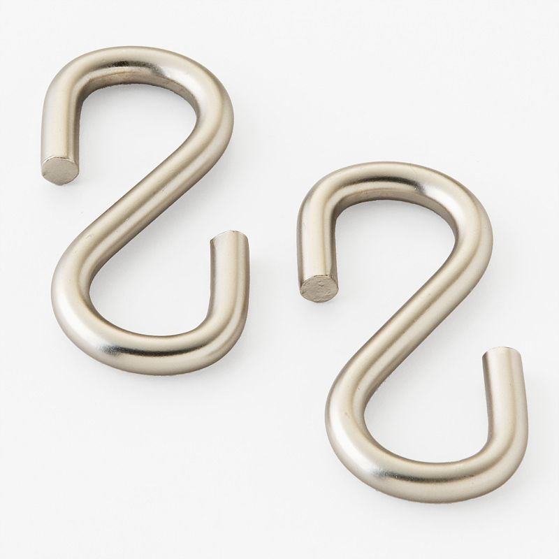 Old Dutch 2-pk. Heavy-Gauge Nickel Pot Rack Extension Hooks