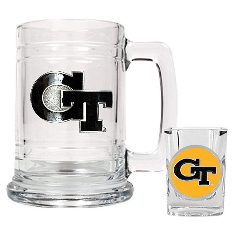 Georgia Tech Yellow Jackets 2-pc. Mug and Shot Glass Set