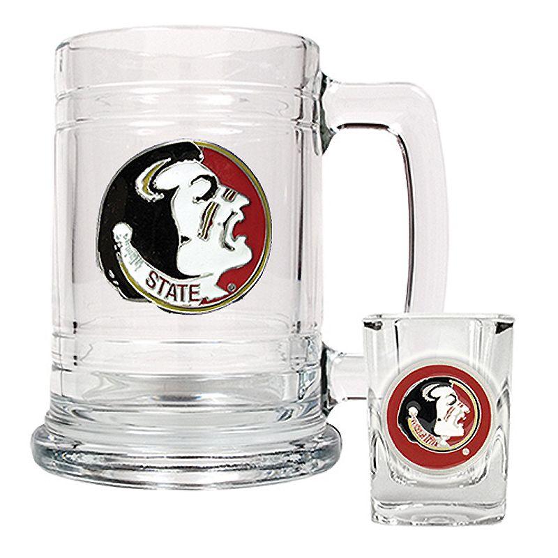 Florida State University Seminoles Mug and Shot Glass Set