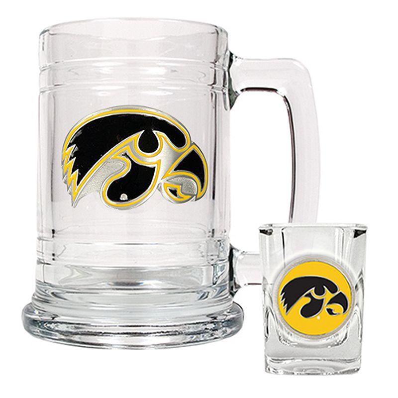 Iowa Hawkeyes Mug and Shot Glass Set