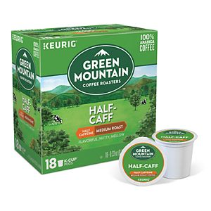 Keurig® K-Cup® Pod 18-pk. Green Mountain Coffee Half-Caff Medium Roast Coffee - 18-pk.