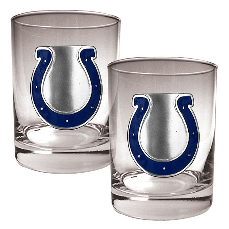 Indianapolis Colts 2-pc. Rocks Glass Set