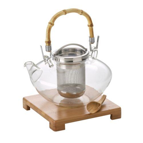 BonJour Zen Glass Teapot
