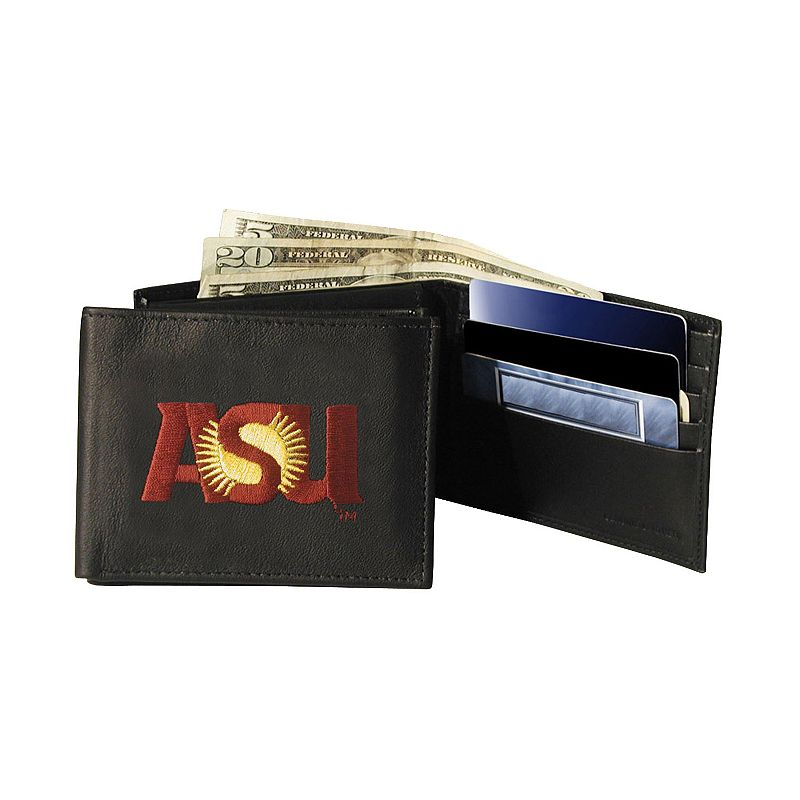 Arizona State University Sun Devils Bifold Leather Wallet